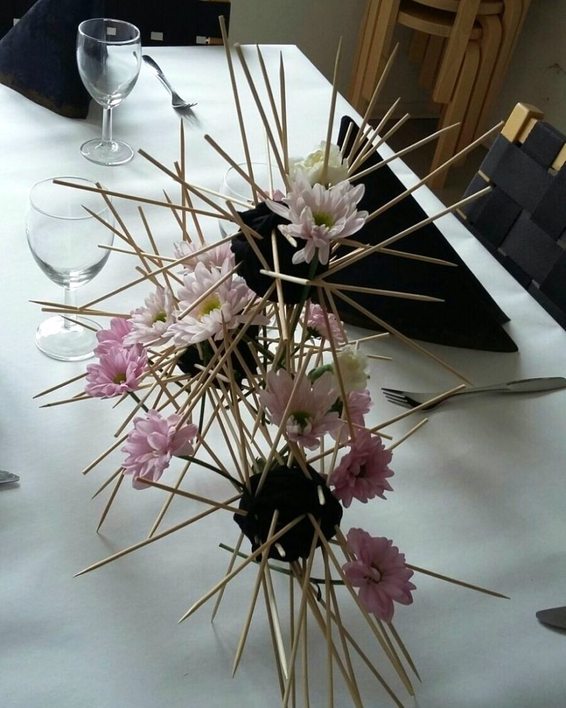 Spikey balls in Aalto Museum cafe